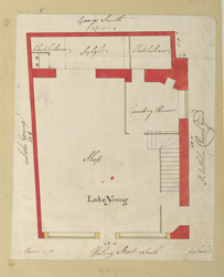 [Plan of a Property on Watling Street] 210-E